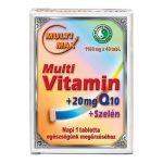Dr. Chen Multi-Max Multi vitamin+20 mg Q10+Szelén tabletta, 1100 mg (40 db)