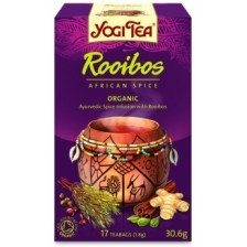 Bio Yogi Rooibos afrikai fűszerezésű tea (17 filter)