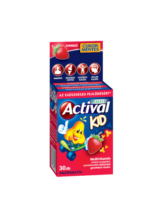 Béres Actival Kid rágótabletta (30 db)
