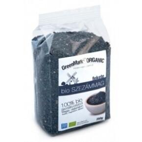 GreenMark Bio szezámmag fekete (250 g)