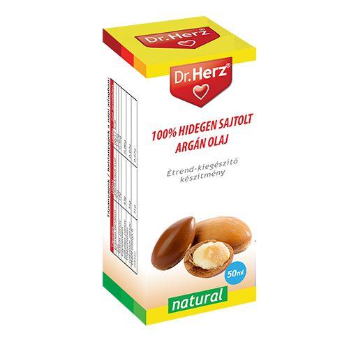 Dr. Herz 100% Hidegen sajtolt argán olaj (50 ml)