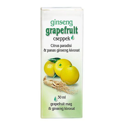 Dr. Chen Grapefruit Cseppek Ginsenggel (30 ml)