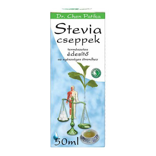 Dr. Chen Stevia Cseppek (50 ml)