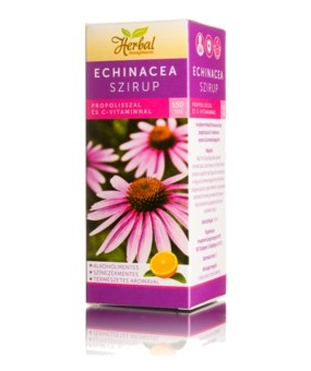 Innopharm Herbal Ehinacea szirup (150 ml)