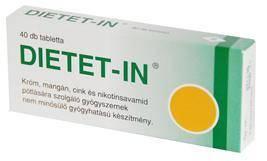 DIETET-IN tabletta (40 db) - Selenium Pharma