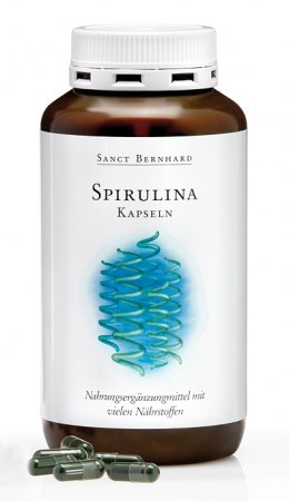 Sanct Bernhard Spirulina alga kapszula (360 db)