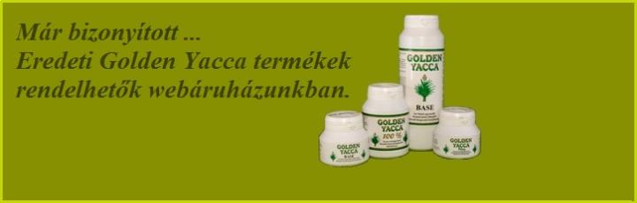 golden yacca termékek
