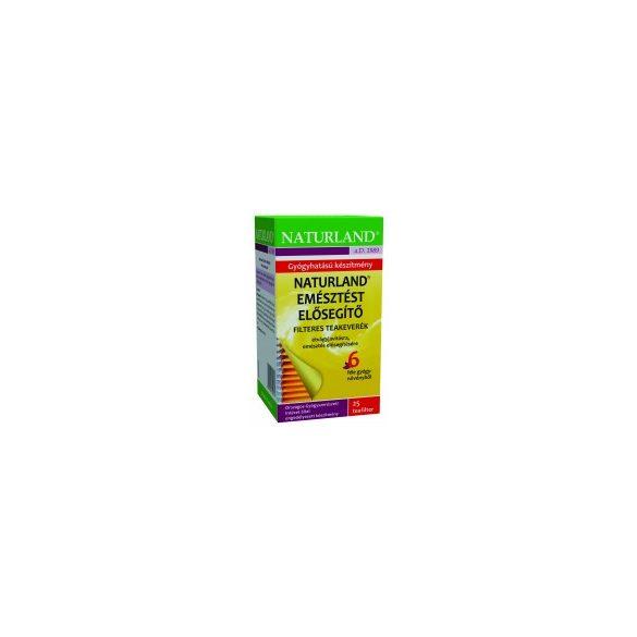 Naturland Emésztést elősegítő teakeverék filteres (25 x 1 g)