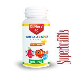 Dr. Herz Omega-3 500 mg gyerek kapszula (60 db)