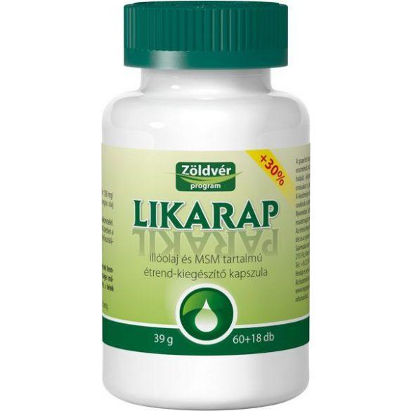 Zöldvér Likarap kapszula (78 db)