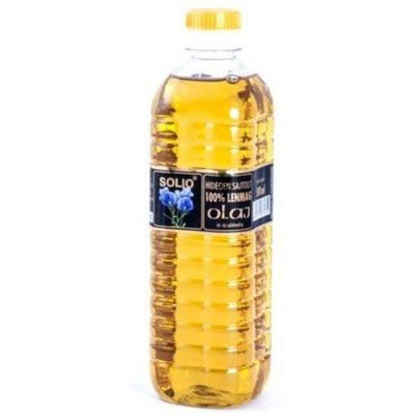 Solio Hidegen sajtolt Lenmag olaj (500 ml)