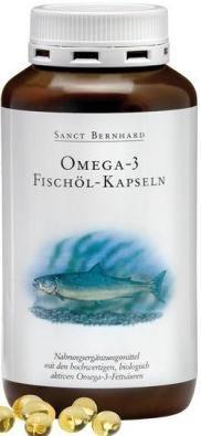 Sanct Bernhard Omega 3 halolaj kapszula (400 db)