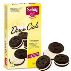 Schär gluténmentes Disco Ciok keksz (165 g)