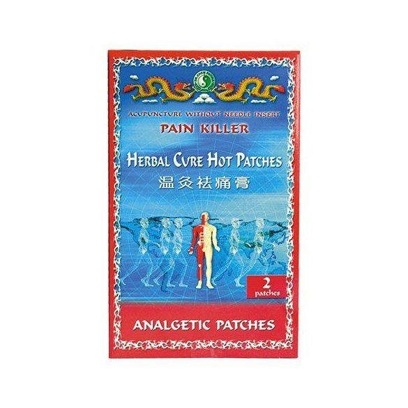 Dr. Chen Herbal Cure fájdalomcsillapító hőtapasz (2 db)