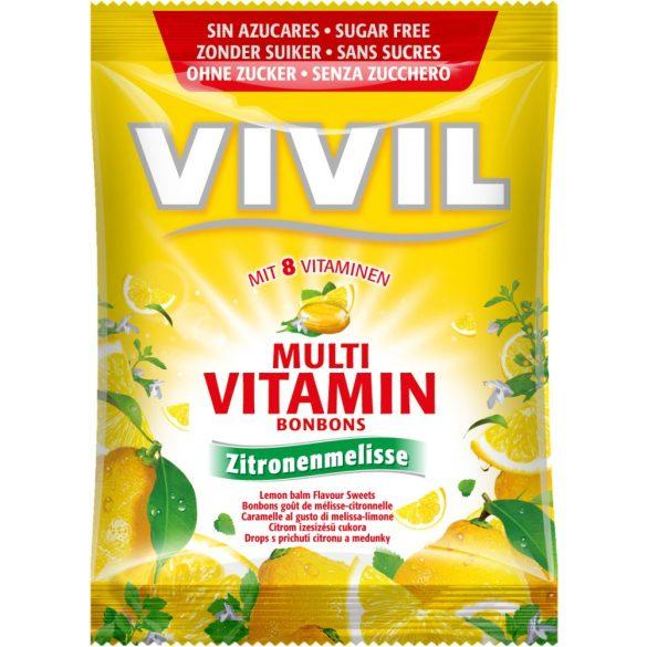 Vivil Multivitamin lemon cukor (60 g)