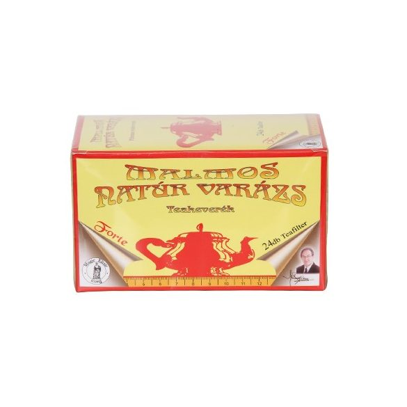 Malmos Natúr Varázs Forte filteres tea (24 db) - magic elixír
