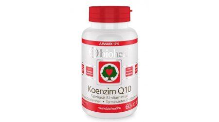 Bioheal Koenzim Q10 60 mg + szerves szelén + E-vitamin (70 db)