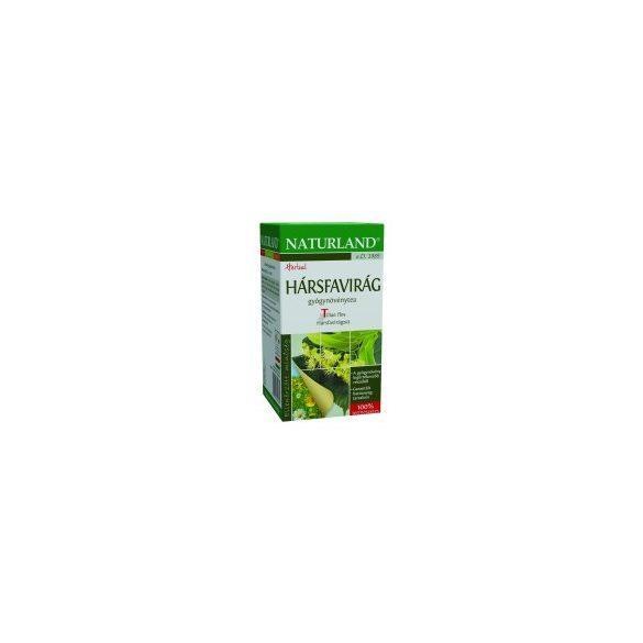 Naturland Hársfavirág Tea, filteres (25 db)