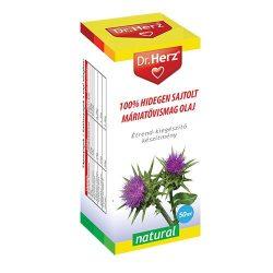 Dr. Herz 100% Hidegen sajtolt máriatövismag olaj (50 ml)