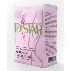D-Star Csökkentett CH tartalmú Sütemény lisztkeverék (1000 g)
