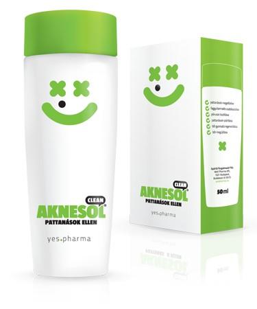 Aknesol Clean ecsetelő (50 ml)