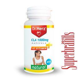 Dr. Herz CLA 1000 mg + E-vitamin kapszula (60 db)