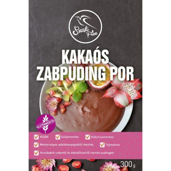 Szafi Free Kakaós zabpuding por 300 g (12 adag)