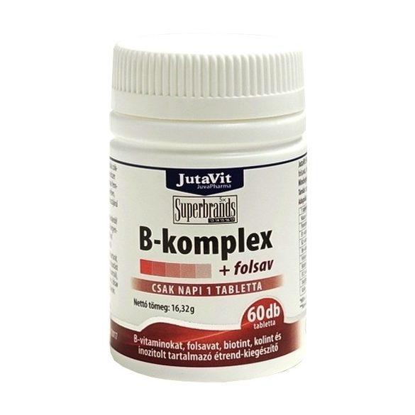 JutaVit B-Komplex + Folsav (60 db)