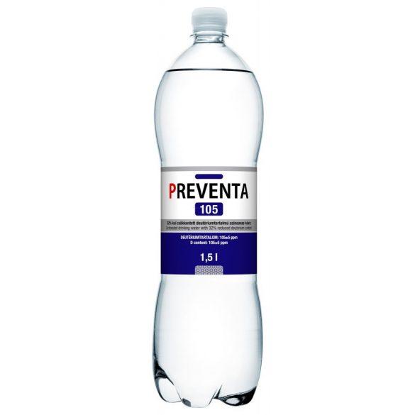 Preventa 105 ivóvíz 32%-al csökkentett deutérium tartalmú szénsavmentes (1500 ml)