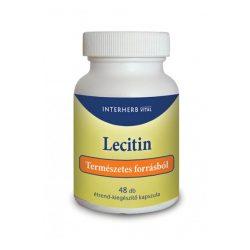 Interherb Vital Lecitin kapszula (48 db)