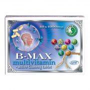 Dr. Chen B-Max Multivitamin és ginseng tabletta (40 db)