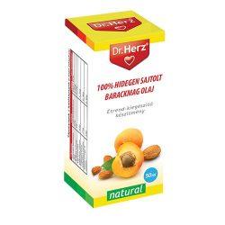 Dr. Herz 100% Hidegen sajtolt barackmag olaj (50 ml)