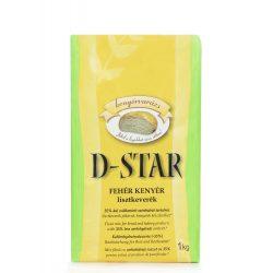 D-Star Csökkentett CH tartalmú Fehérkenyér sütőkeverék (1000 g)