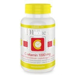 Bioheal C-vitamin 1000 mg+csipkebogyó kivonat nyújtott felszívódású tabletta (70 db)