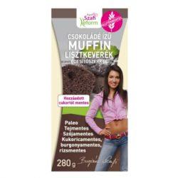 Szafi Reform Étcsokoládé ízű muffin lisztkeverék édesítőszerrel (280 g)