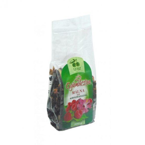 IZ-ISZ gyümölcstea, málna (100 g)