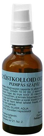 Ezüstkolloid oldat pumpás (50 ml)