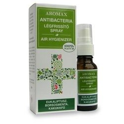 Aromax Antibacteria levegőtisztító spray Eukaliptusz-borsosmenta-kakukkfű (20 ml)