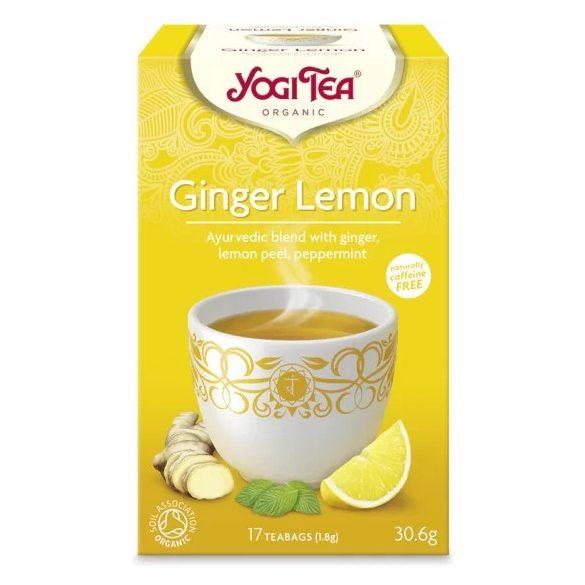 Bio Yogi Citromos gyömbéres tea (17 filter)