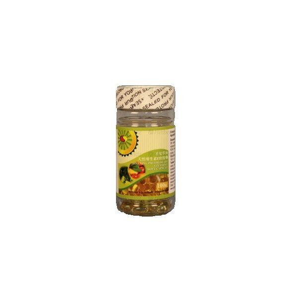 Sun Moon E-vitaminos Ligetszépe olaj lágyzselatin kapszula (100 db)