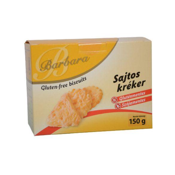 Barbara gluténmentes kréker sajtos (180 g)