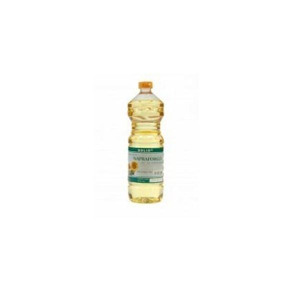 Solio Hidegen sajtolt Napraforgó étolaj (1000 ml)