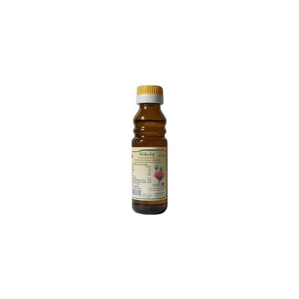 Biogold Hidegen sajtolt mákolaj (100 ml)