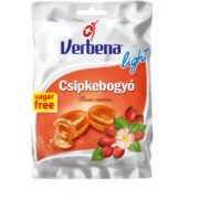 Verbena cukorka csipkebogyó sugar free (60 g)