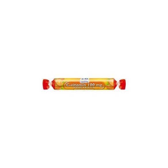 1x1 Vitaday Szőlőcukor rágótabletta C-vitamin 100 mg, narancs ízű (17 db)