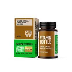 Vitamin Bottle Ginseng, Guarana, Ginkgo Biloba kapszula (30 db)