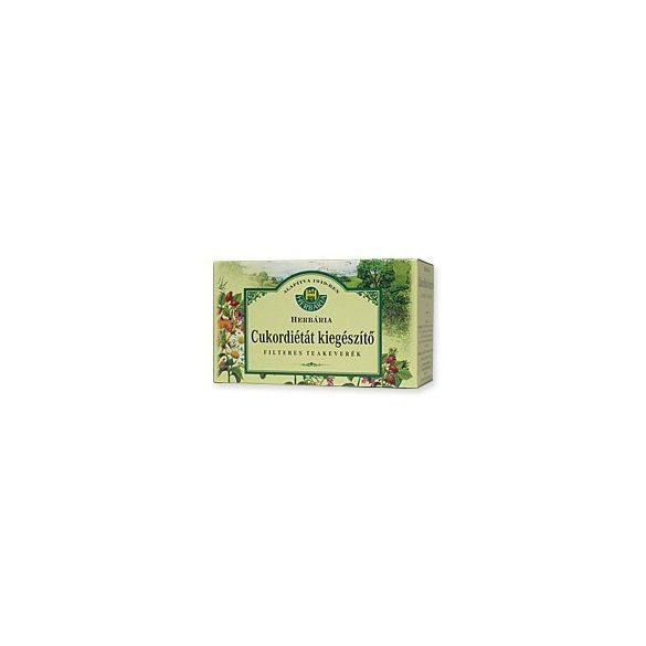Herbária Filteres tea Cukordiétát kiegészítő (20x1,5 g)