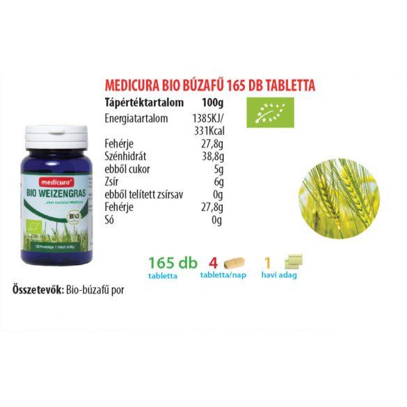 Medicura Bio Búzafű tabletta (165 db)
