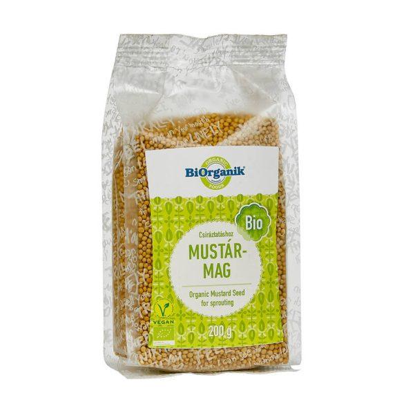 Biorganik Bio mustármag csíráztatáshoz (200 g)