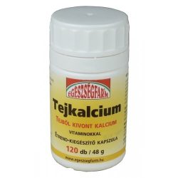 Egészségfarm Tejkálcium kapszula (120 db)